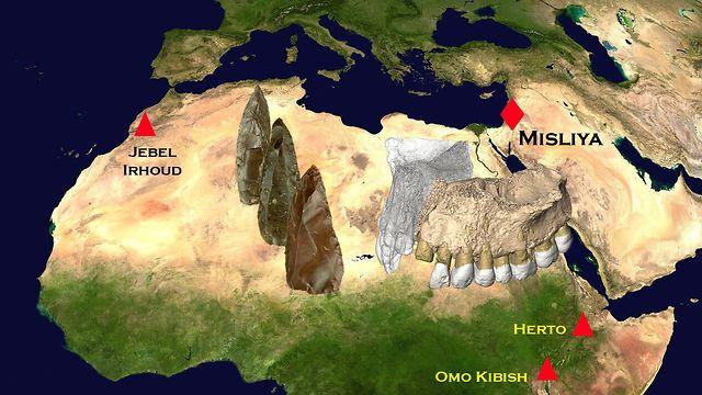 מאפריקה לישראל ()