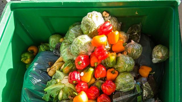 חלק מהמזון עדיין ניתן לאכילה. ארכיון (צילום: shutterstock) (צילום: shutterstock)