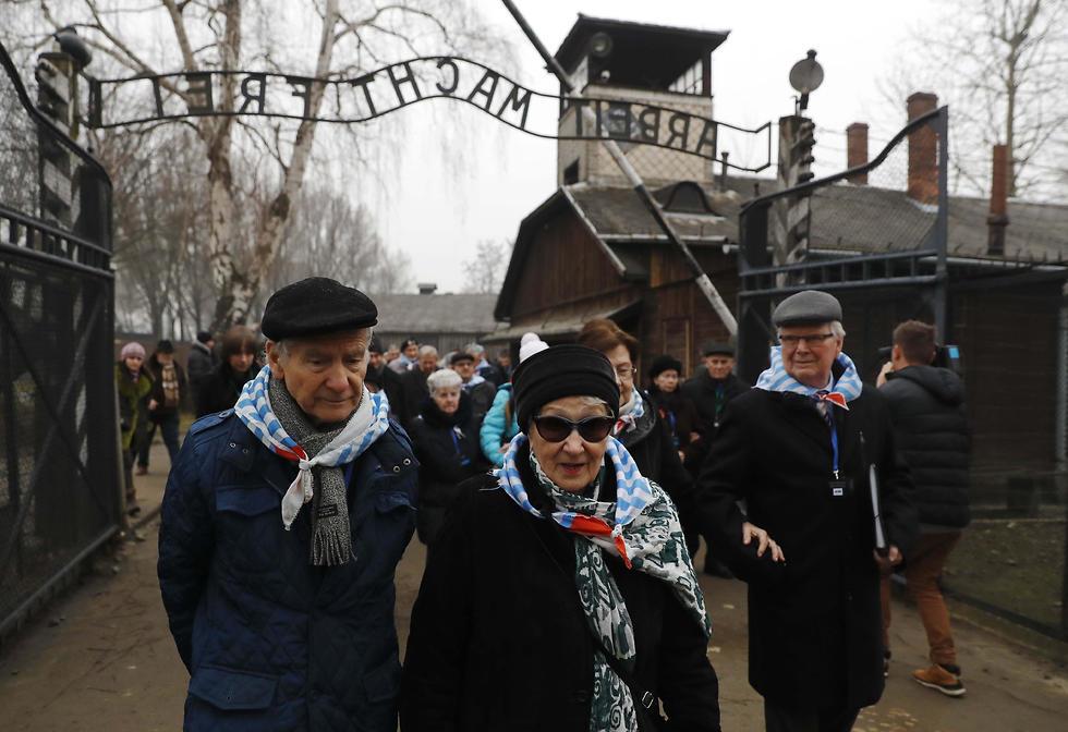 The former Auschwitz death camp (Photo: Reuters)