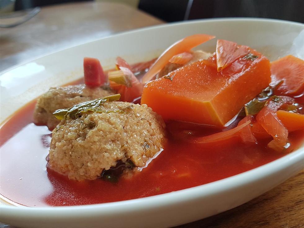 """אוכל של בית בדרך לאילת. """"רוזטה"""" (צילום: הדס רז גלבוע) (צילום: הדס רז גלבוע)"""