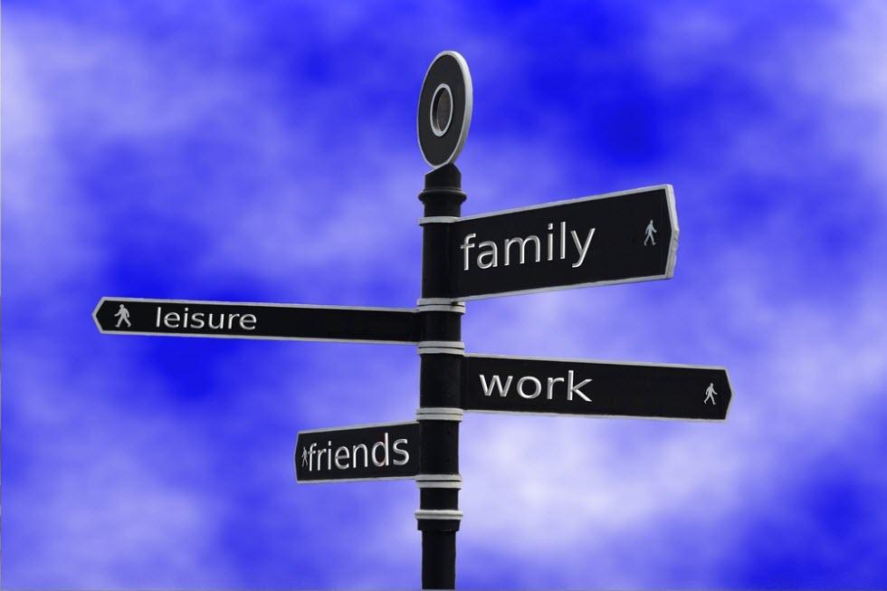 מסבירים על חשיבות האיזון בין הפנאי לעבודה ועל החשיבות של המשפחה והילדים לצד העבודה.  (צילום: shutterstock) (צילום: shutterstock)