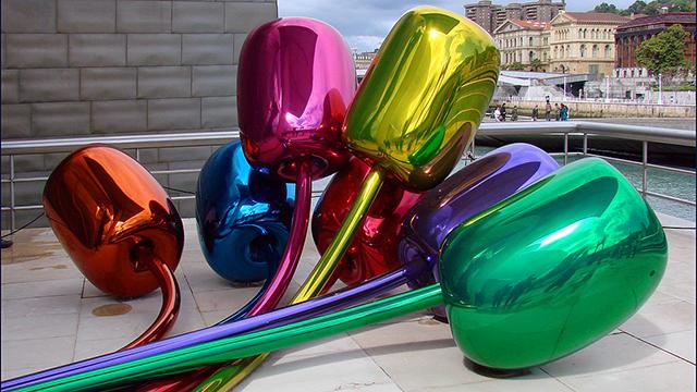 פסל הצבעונים של ג'ף קונס (צבעונים של ג'ף קונס) (צבעונים של ג'ף קונס)