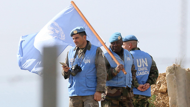 UNIFIL peacekeepers on the Israel-Lebanon border (Photo: AFP)