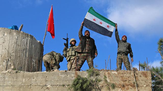 Turkish-backed Syrian rebels (Photo: AFP)