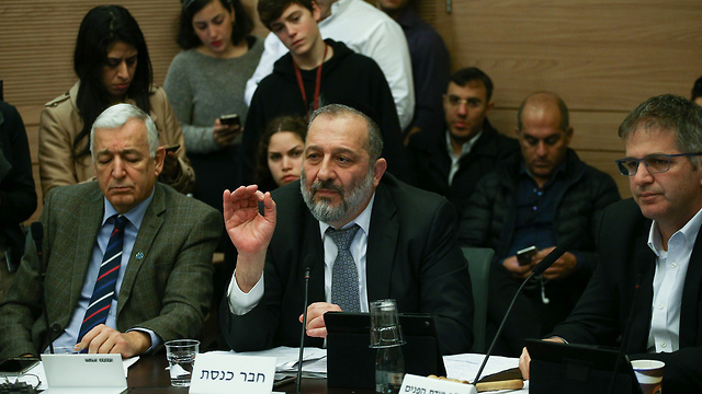 Deri asserted that an agreement was in place with a third country to receive African migrants (Photo: Ohad Zwigenberg)