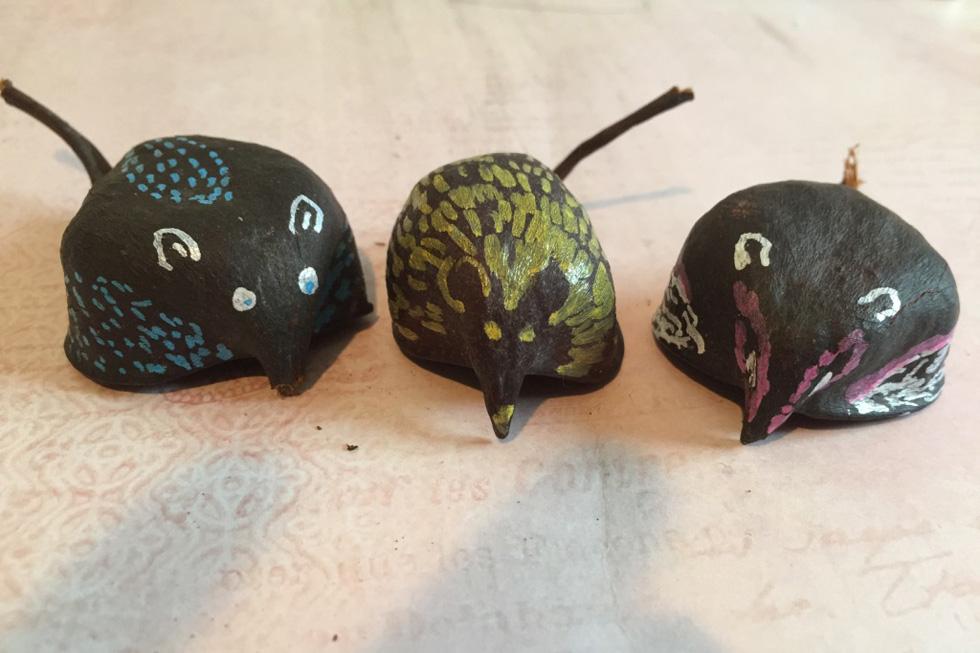 עכברי שדה (צילום ויצירה: אפרת דה בוטון)