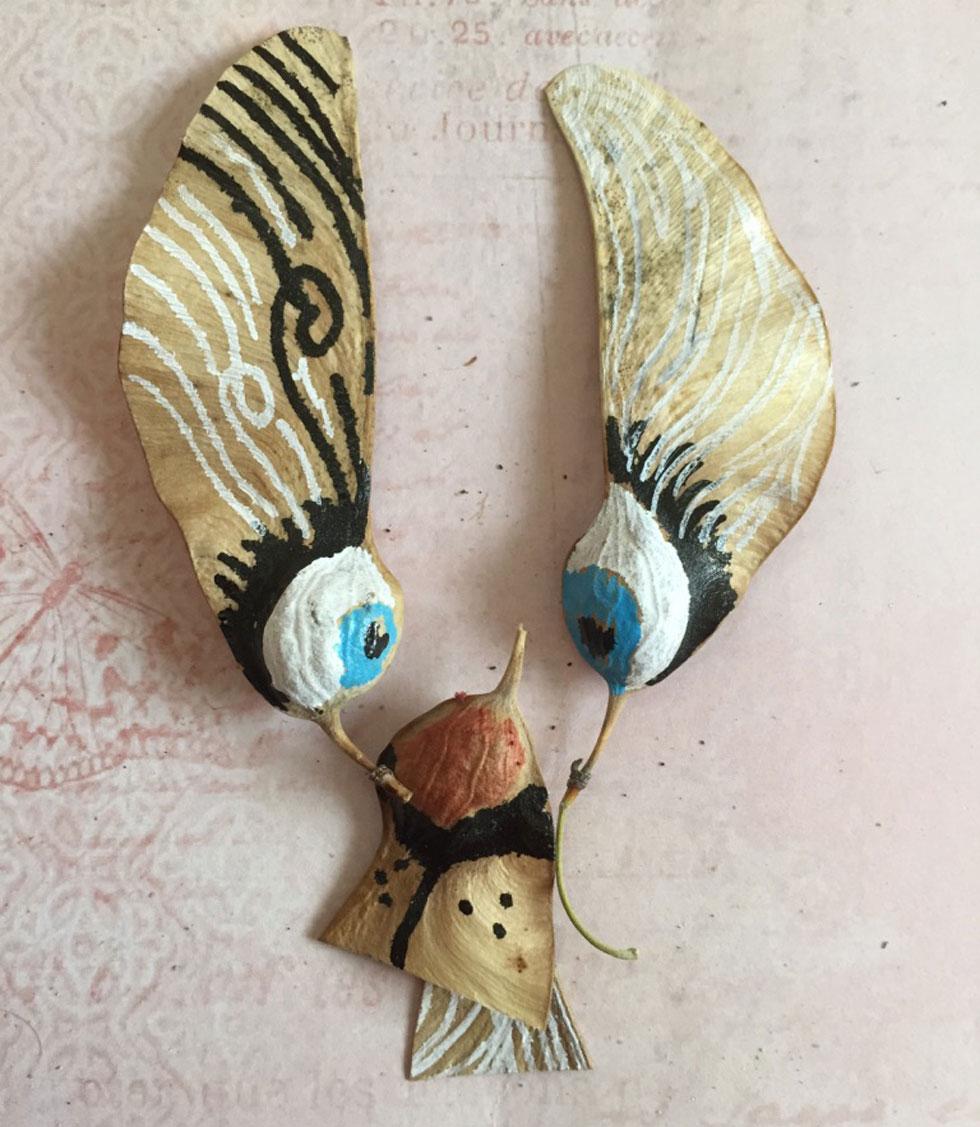 ארנבון מכנף נאה (צילום ויצירה: אפרת דה בוטון)