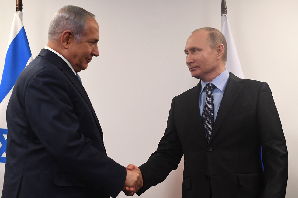 Netanyahu and Putin meet in Moscow (Photo: Kobi Gideon/GPO)