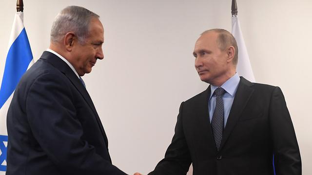 Премьер-министр Израиля Биньямин Нетаниягу и президент РФ Владимир Путин. Фото: Коби Гидон/ЛААМ (Photo: Kobi Gideon/GPO)