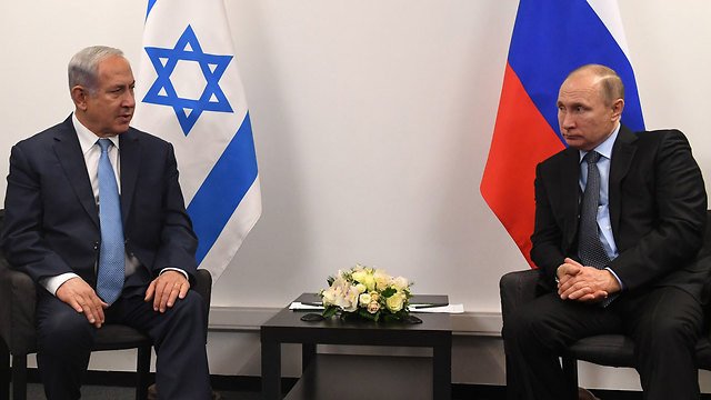 Netanyahu and Putin in January (Photo: Kobi Gideon/GPO)