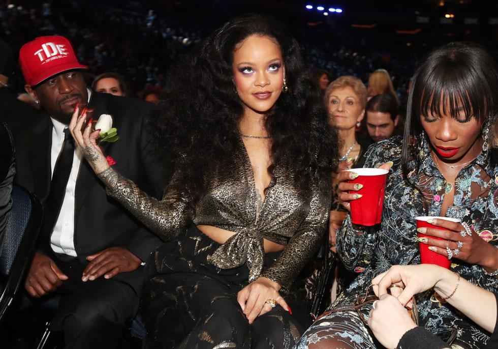 למי קראתם שמנה? ריהאנה בטקס פרסי הגראמי (צילום: Gettyimages)