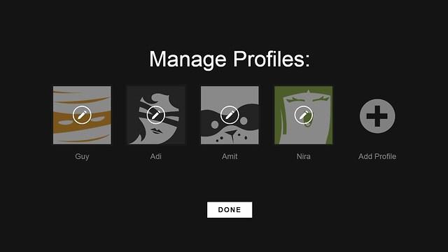 פרופיל אישי עם תמונה ייחודית לכל משתמש (צילום מסך: נטפליקס) (צילום מסך: נטפליקס)