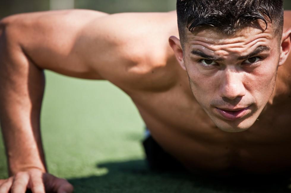 ההצלחה טמונה ביכולת להביא את הגוף - כמעט עד לקצה