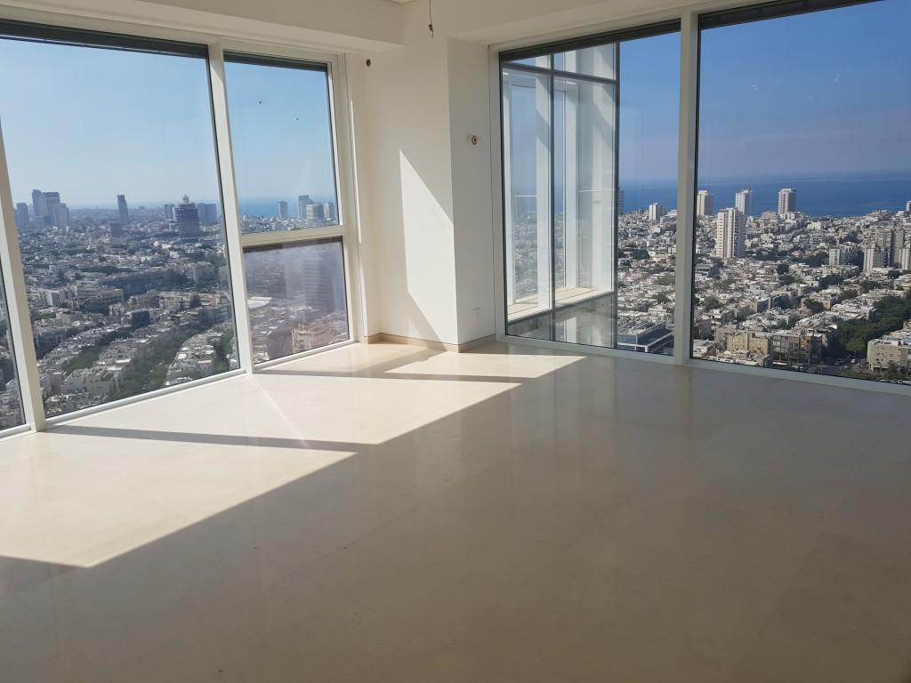 הדירה במגדל רמז. מוצעת למכירה ב-35 מיליון שקל (צילום: באדיבות רשת אנגלו סכסון) (צילום: באדיבות רשת אנגלו סכסון)