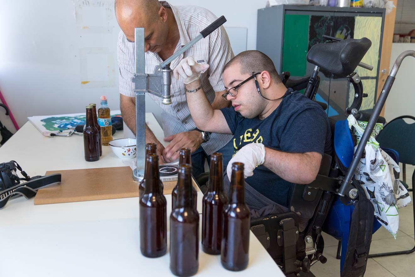 """הבירה החברתית עושה """"צעד קדימה"""" (צילום: מעוז ויסטוך)"""