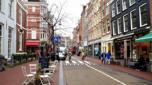 להסתובב בלי תיירים: רחוב הארלמרמרסטראט (צילום: עידן חמו) (צילום: עידן חמו)