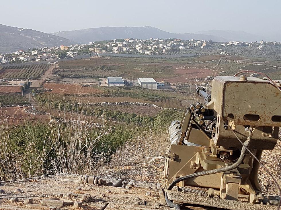 כל אירוע קטן יכול להסתיים בהסלמה. גבול לבנון (צילום: יואב זיתון) (צילום: יואב זיתון)