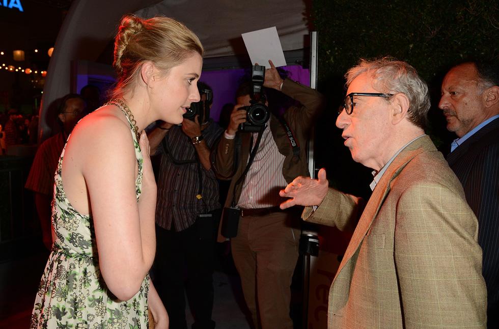 """עם וודי אלן, שביים אותה ב""""לרומא באהבה"""". """"לא הייתי מודעת למורכבויות שמאחורי העצומה שעליה חתמתי"""" (צילום: Gettyimages)"""
