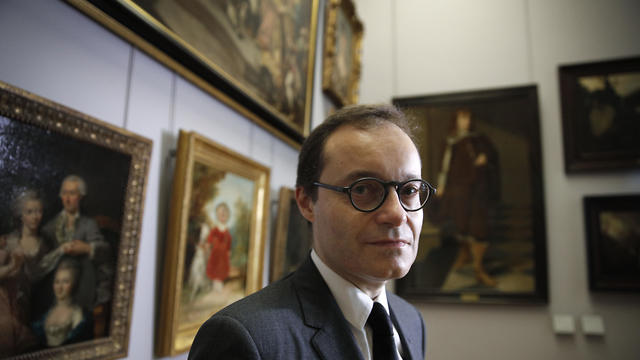Head of the paintings department Sebastien Allard said the museum's goal was to return the paintings (Photo: AP)