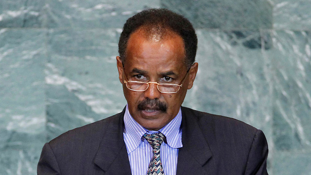 Eritrean President Isaias Afwerki says Israel should pay each migrant around $50,000 to leave (Photo: AP)