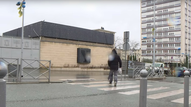 A Jewish center in Sarcelles (Photo: AFP)