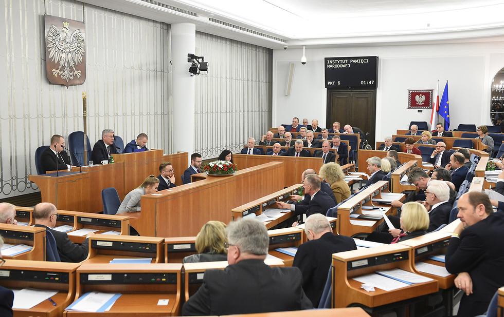 Polish Senate (Photo: EPA)