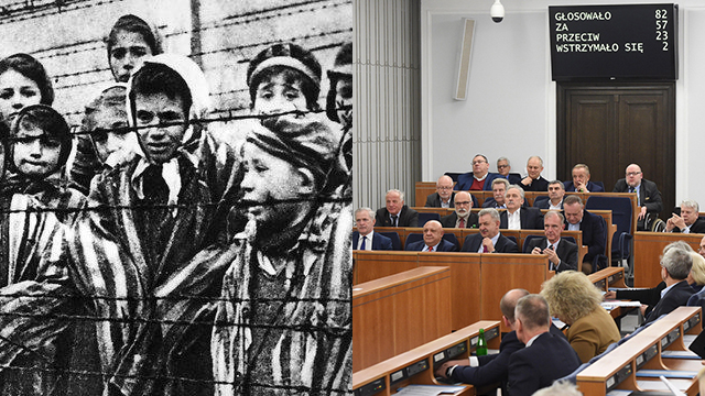 Auschwitz prisoners, the Polish Senate (Photo: EPA)