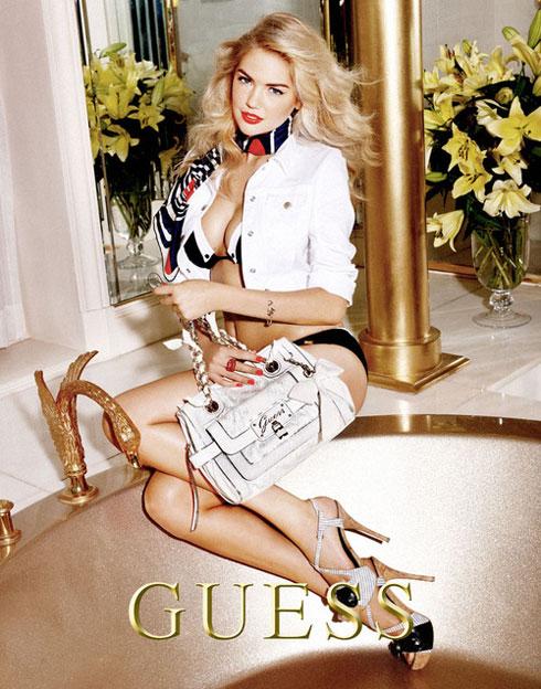 בגיל 18 היא נבחרה לדוגמנית הבית של המותג. אפטון בקמפיין עבר של Guess