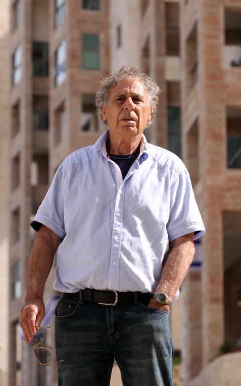 ישראל גודוביץ: ''המקום בכלל היה אמור להיות ציבורי?'' (צילום: חיים צח)