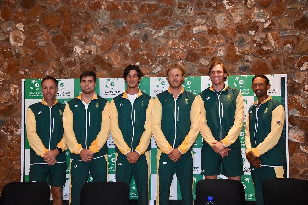 נבחרת דרום אפריקה (צילום: עפרה פרדימן, איגוד הטניס) (צילום: עפרה פרדימן, איגוד הטניס)