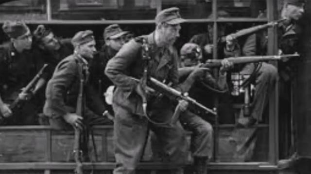 רצחו 500 ילדים בנשק קר כדי לחסוך תחמושת. אנשי היחידה ה-36 ()