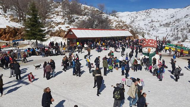 Mt Hermon Ski Site (Photo: Hermon site)