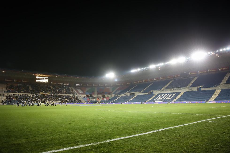 הגומלין בשבוע הבא: באצטדיון טדי (צילום: עוז מועלם) (צילום: עוז מועלם)