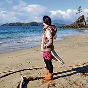 יצאנו מהמטריקס. טבת־דיין בחוף הקנדי ליד הבית