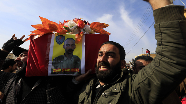 Бойцы курдских отрядов народной самообороны в Сирии. Фото: AFP