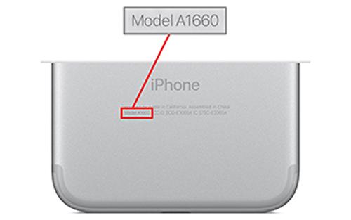 כך תזהו אם המכשיר שלכם מהסדרה הבעייתית (צילום: אפל)