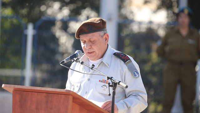 IDF Chief of Staff Eisenkot (Photo: Motti Kimchi)