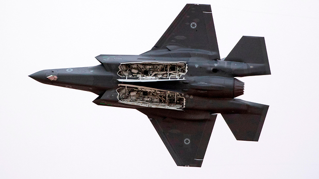 F-35. בדרך לטייסת שלישית? (צילום: AFP)