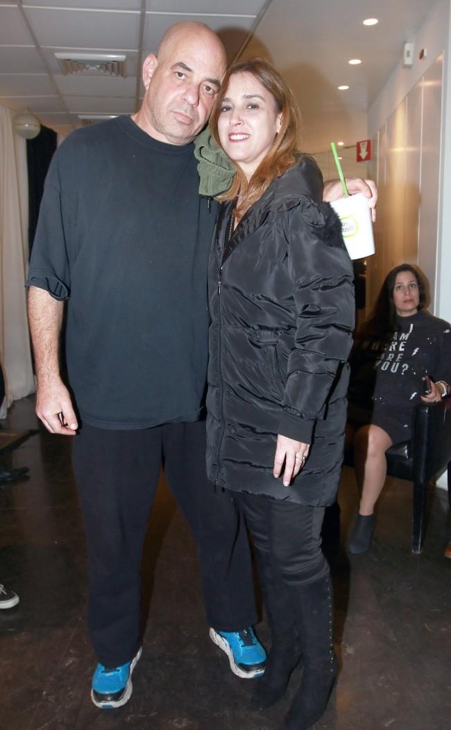 איך הסרט? רון קופמן ואשתו שרית יפרח (צילום: ענת מוסברג)