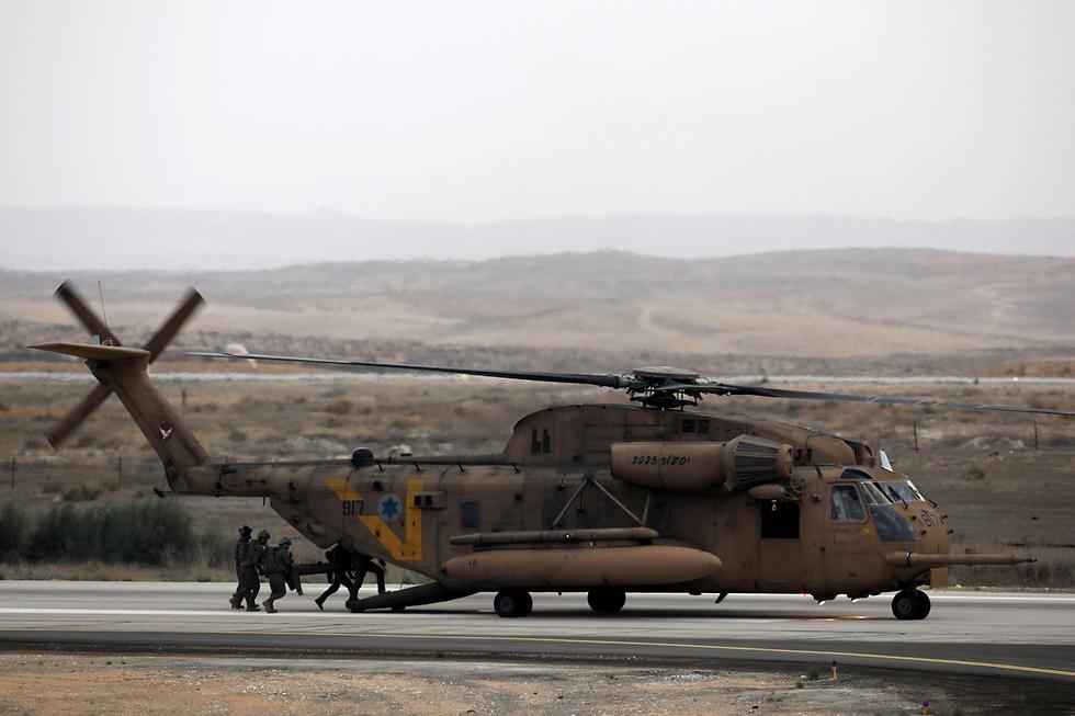 הופל על ידי טיל חיזבאללה במלחמת לבנון השנייה. מסוק יסעור, ארכיון (צילום: רויטרס) (צילום: רויטרס)