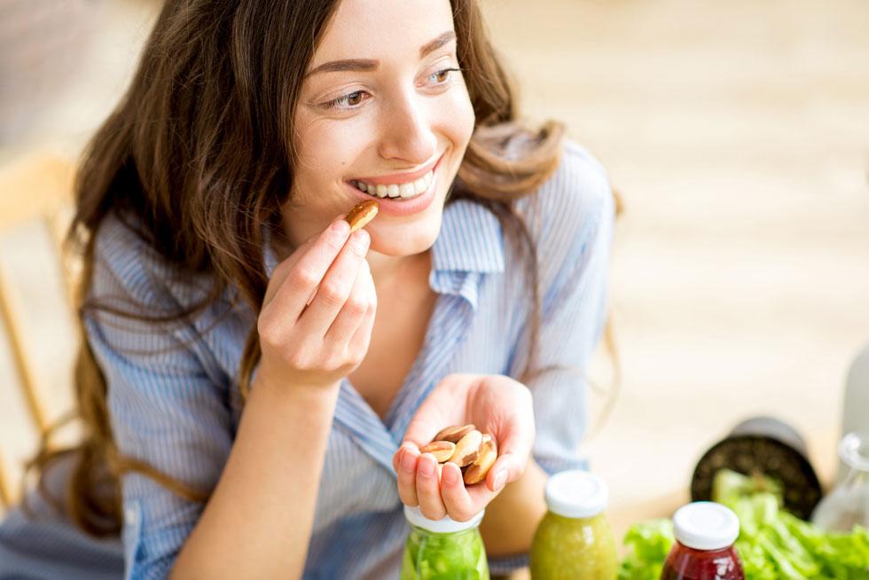 אגוזים טבעיים, יפים לבריאות (צילום: Shutterstock)