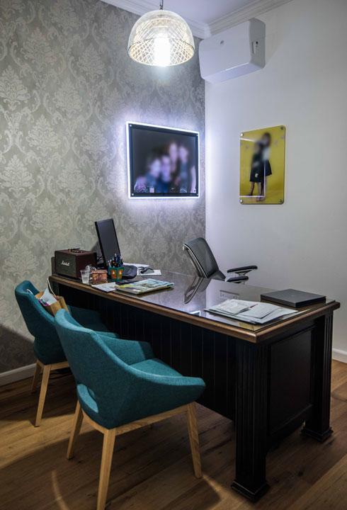 חדר העבודה הביתי (צילום: גלעד רדט)