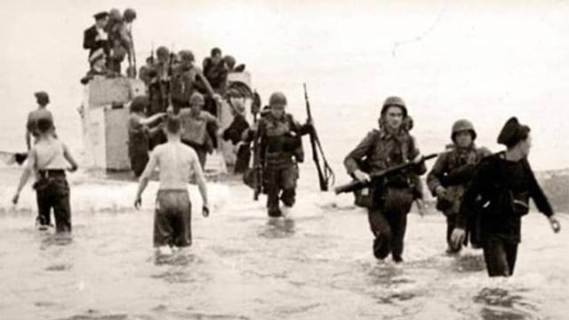 1942: חיילים אמריקנים באלג'יריה