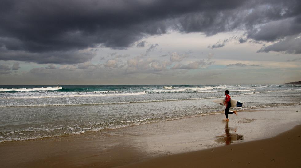 חוף קונטיקי בצילום דרמטי (צילום: בני משי) (צילום: בני משי)