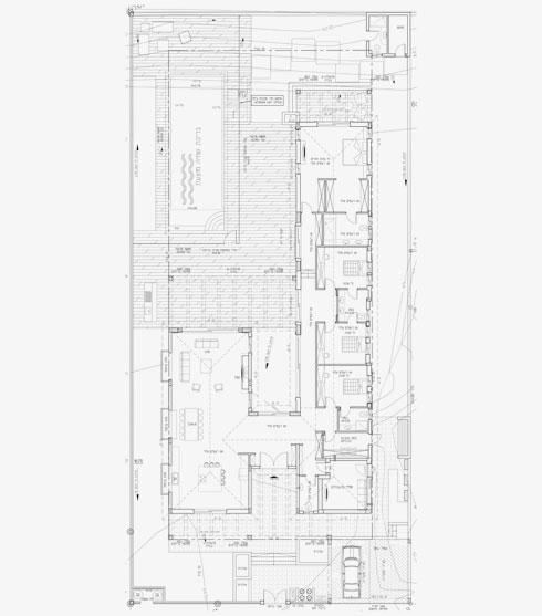 תוכנית בצורת H. האגף הפרטי בזרוע הארוכה  (תוכנית: דן שירלי)