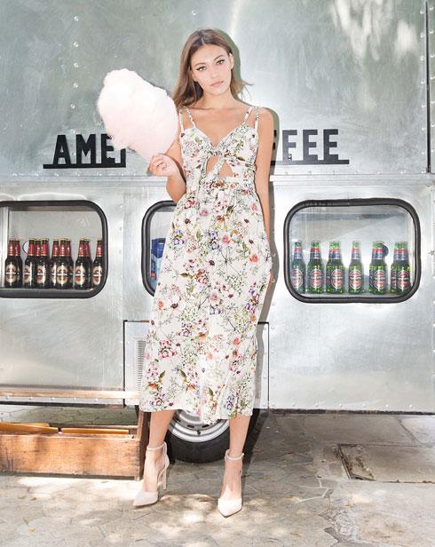 פיו פיו. בתמונה: שמלת מונרו פרחונית ב-500 שקל במקום 1,200 שקל (צילום: דנה וקסלר)
