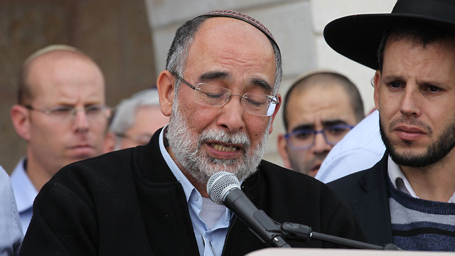 Daniel Ben-Gal, Itamar's father (Photo: TPS)