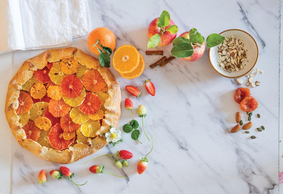 לא רק לחצי-קונדיטורים: טארט תפוזים קליל (צילום: יוסי סליס, סגנון: נטשה חיימוביץ')