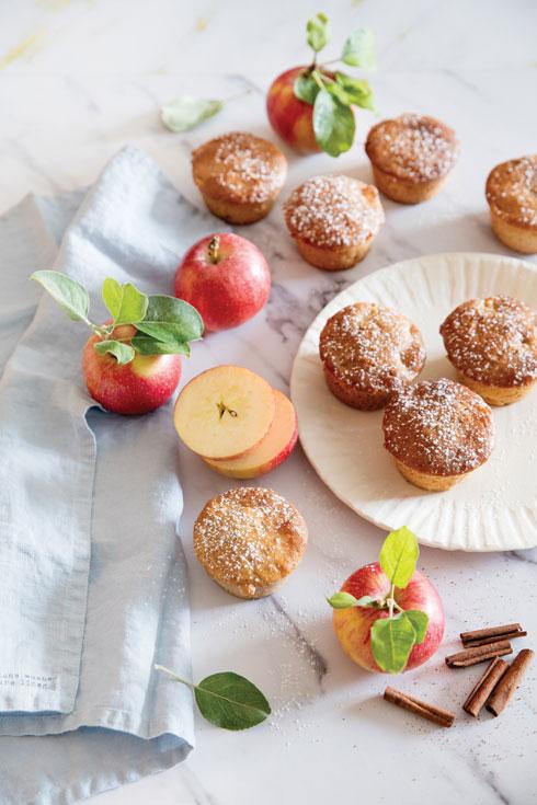 עוגת שמרים בחורה עם תפוחים (צילום: יוסי סליס, סגנון: נטשה חיימוביץ')