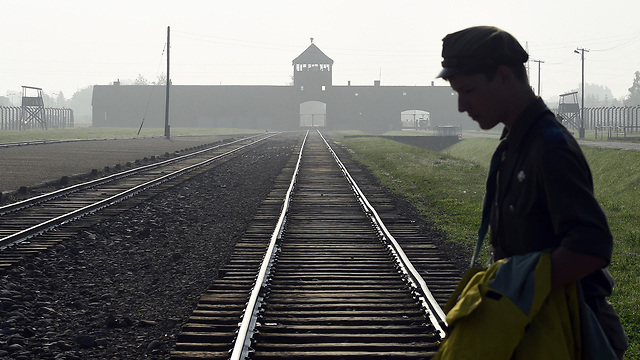 The Auschwitz death camp. Some 250,000 Jews who fled the ghettos, the trains and the death camps were turned over to the Nazis by Polish people, and thousands were murdered by their neighbors  (Photo: AP)